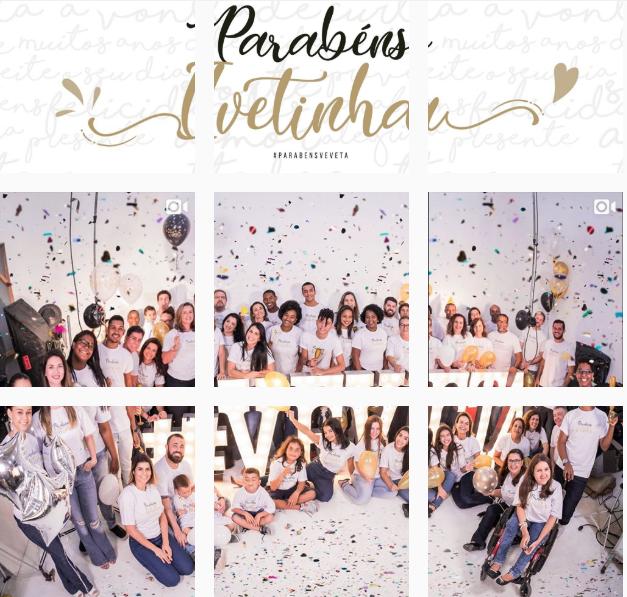 """""""Parabéns Ivetinha"""": Instagram da cantora está personalizado (Foto: Reprodução Instagram)"""