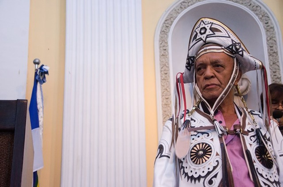 Mestre Aprígio produziu peças para Luiz Gonzaga e Dominguinhos — Foto: Jan Ribeiro/Secult-PE/Divulgação