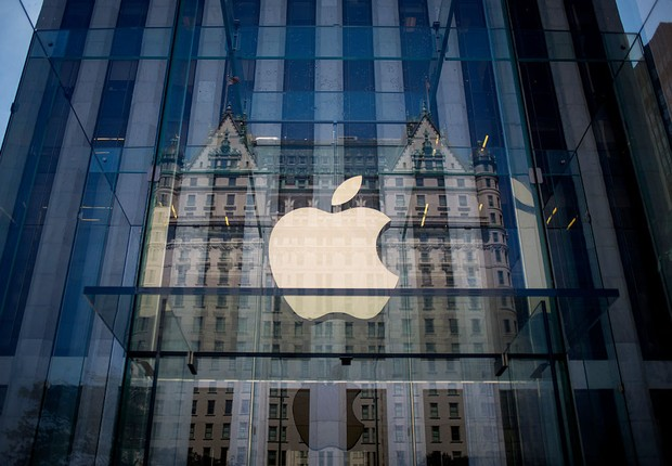 Loja da Apple em NY (Foto:  Eric Thayer/Getty Images)