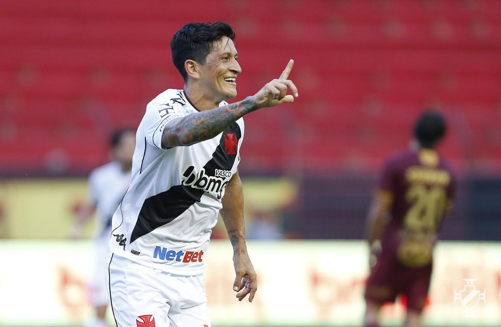 Atacante voltou a marcar após nove jogos — Foto: Rafael Ribeiro/Vasco da Gama