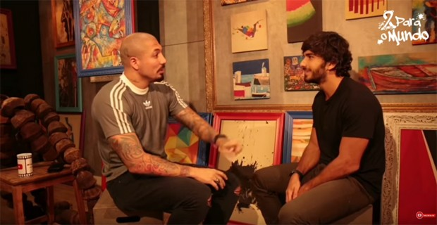 Fernando Medeiros e Hugo Moura (Foto: Reprodução/YouTube)
