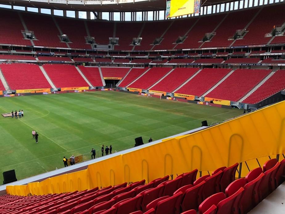 Ministério Público recomenda fim de tratativas para trazer Carioca para o Mané Garrincha