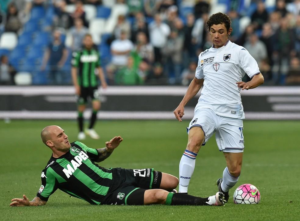 Dodô pertence à Sampdoria, mas estava emprestado ao Santos â?? Foto: Getty Images