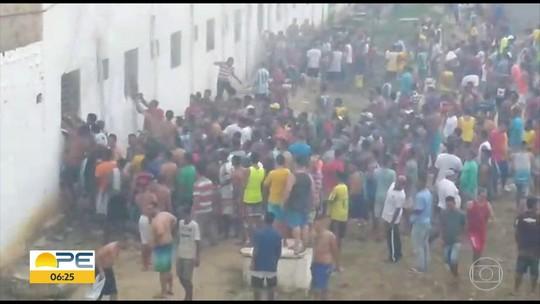 Três detentos ficam feridos em incêndio em penitenciária em Itamaracá