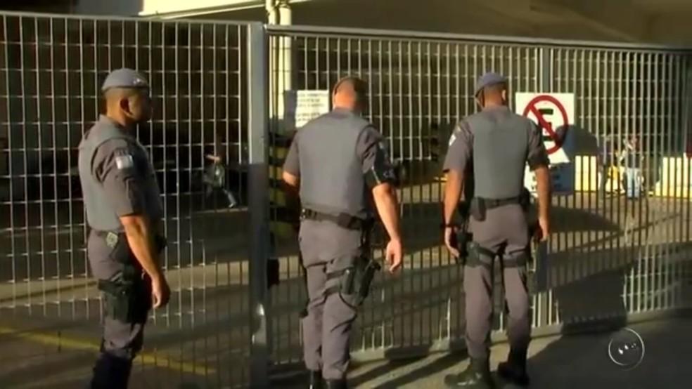 Operação contra crime organizado aconteceu em Catanduva (Foto: Reprodução/TV TEM)