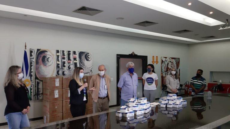 'Juntos por Uberlândia' entrega 60 mil máscaras de proteção para auxiliar no combate à Covid-19