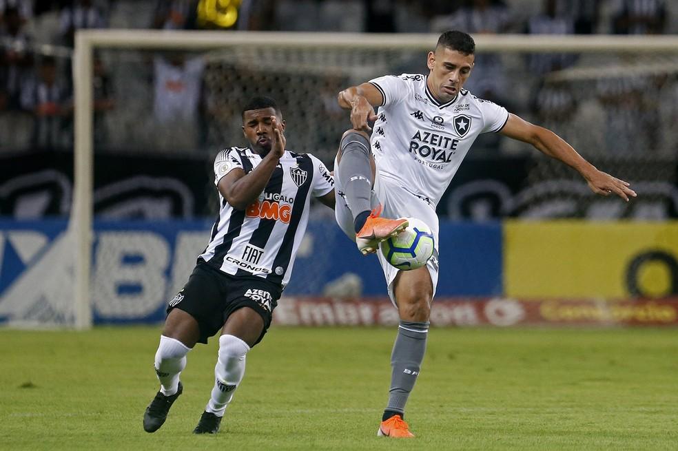 Diego Souza atuou em 2019 pelo Botafogo — Foto: Vitor Silva/Botafogo