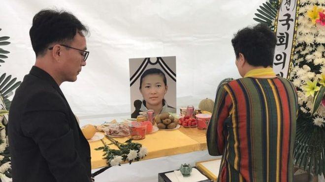 Han Sung-ok recebeu, após sua morte, um reconhecimento que nunca teve em vida (Foto: BBC News Brasil)