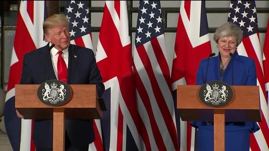 De olho no futuro, Trump articula grande acordo comercial com o Reino Unido