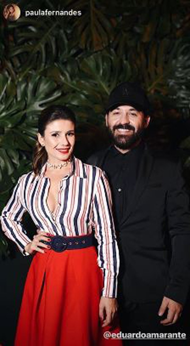 Paula Fernandes e Eduardo Amarante (Foto: Reprodução/Instagram)