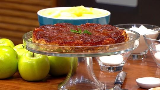 Torta francesa de maçãs - Tarte Tatin