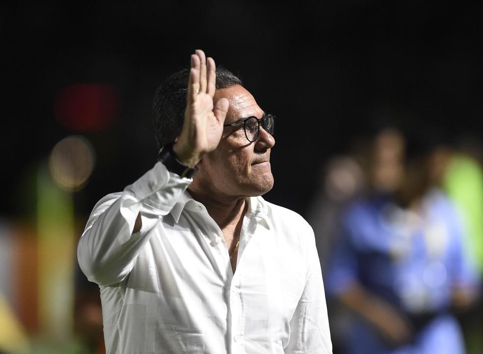 Vanderlei Luxemburgo não fica no Vasco em 2020 — Foto: André Durão/GloboEsporte.com