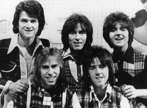 Bay City Rollers em 1976 (Foto: Getty Images)