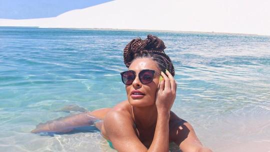 Juliana Paes aproveita férias no Maranhão