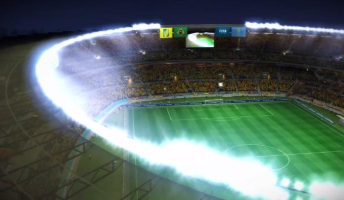 Estádio do Mineirão estará presente em Fifa 14 (Foto: Reprodução / YouTube)