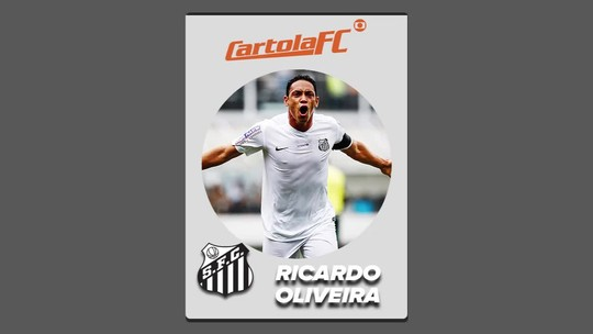 Cartola FC: Ricardo Oliveira marca dois gols e é o monstro da rodada #20