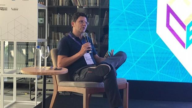 André Friedheim, vice-presidente da ABF, em palestra no FICE 2018 (Foto: Rafael Jota)