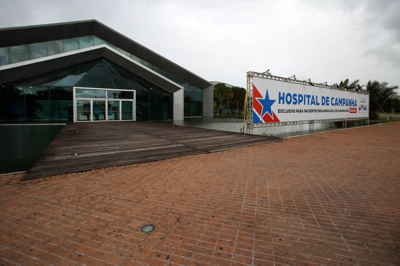 Internações em Hospital de Campanha de Belém aumentam 18% após final do 'verão amazônico', aponta Sespa