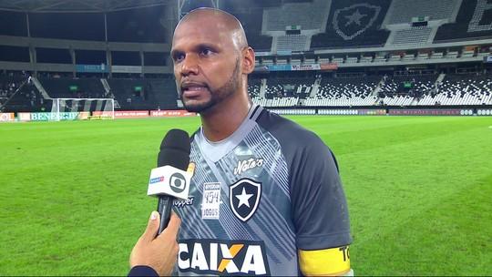 Jefferson diz que faltou ao Botafogo agredir mais o Ceará