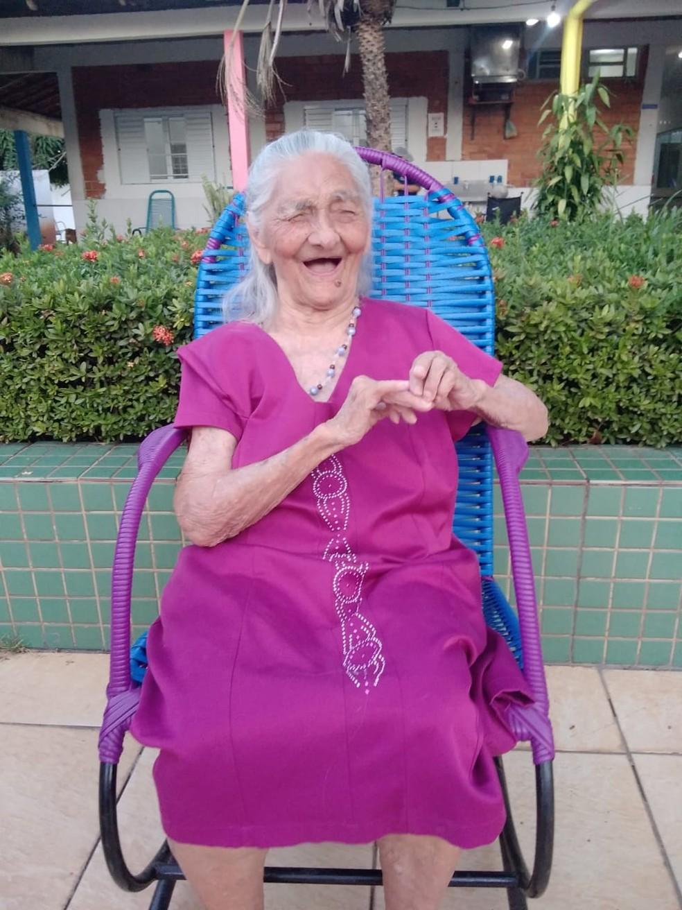 Arminda da Silva completa 110 anos  — Foto: Arquivo pessoal
