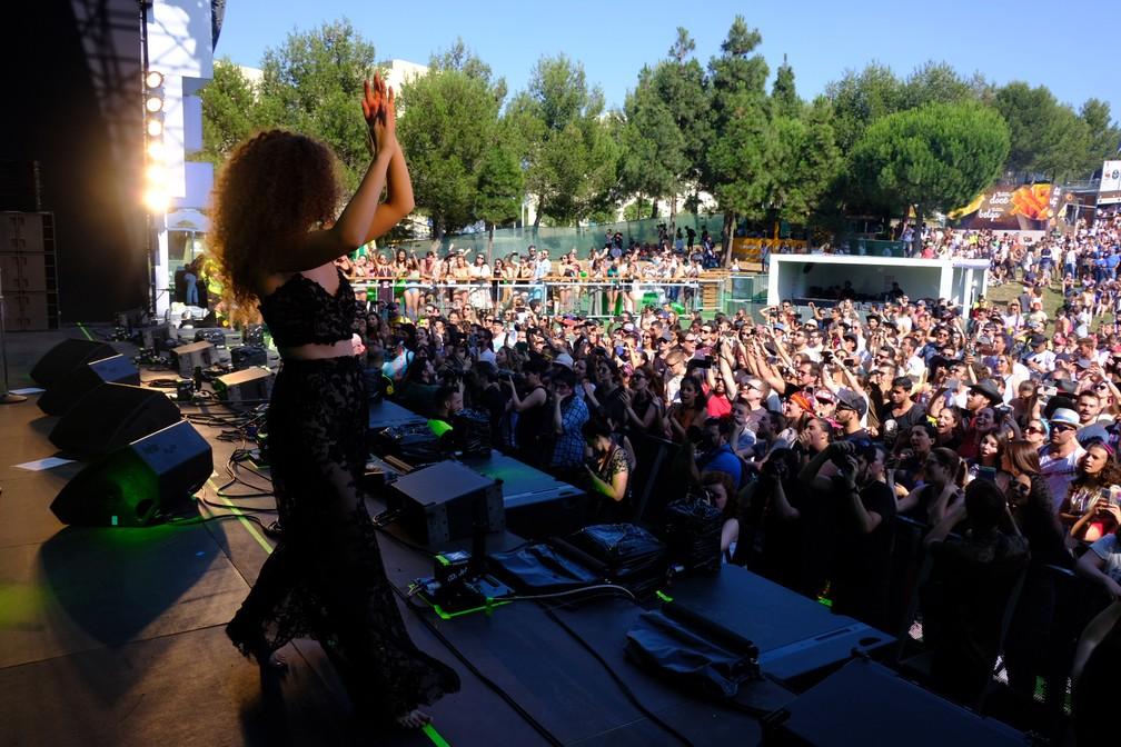 Anavitória faz show no Rock in Rio Lisboa (Foto: Divulvação/Rock in Rio Lisboa)