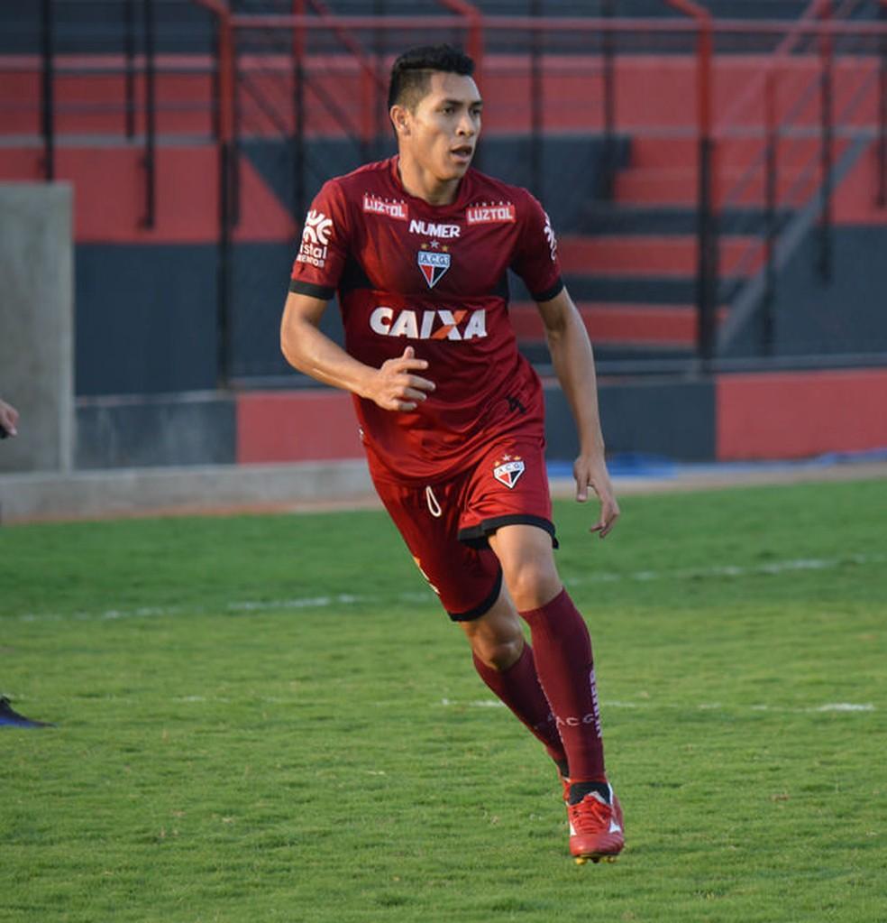 Igor - volante do Atlético-GO (Foto: Paulo Marcos / Atlético-GO)