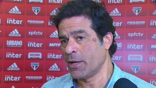 Raí diz que seria bom para o São Paulo ter um jogador mais alto e de área; argentino é observado