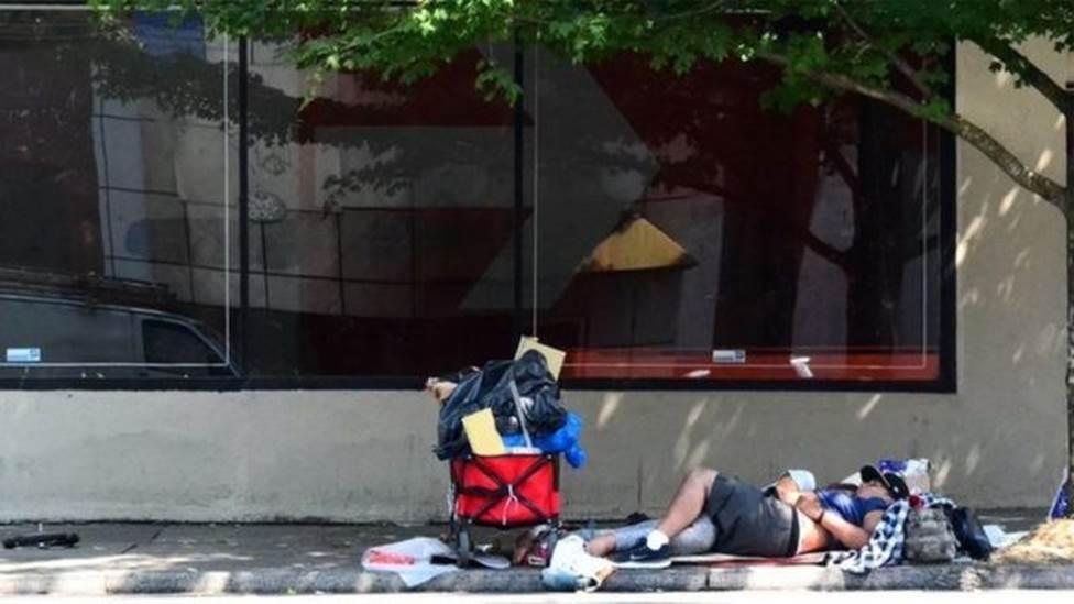 Aumento do número de sem-teto nos EUA é 'bomba-relógio'