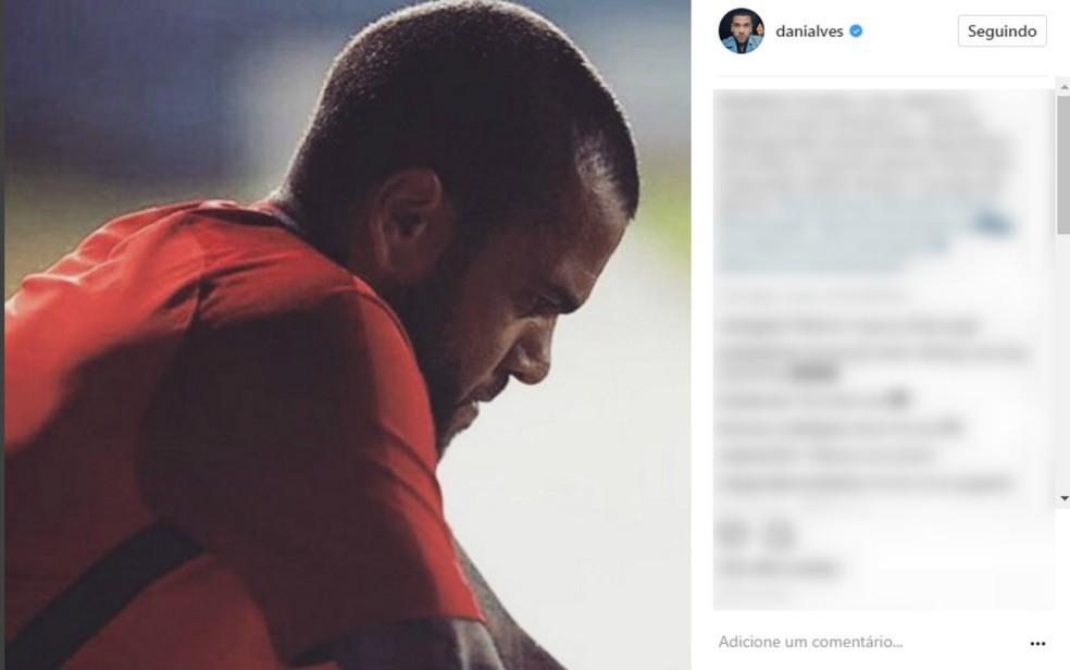 Tia do jogador Daniel Alves morreu afogada nesta sexta, na Bahia (Foto: Reprodução/Instagram)
