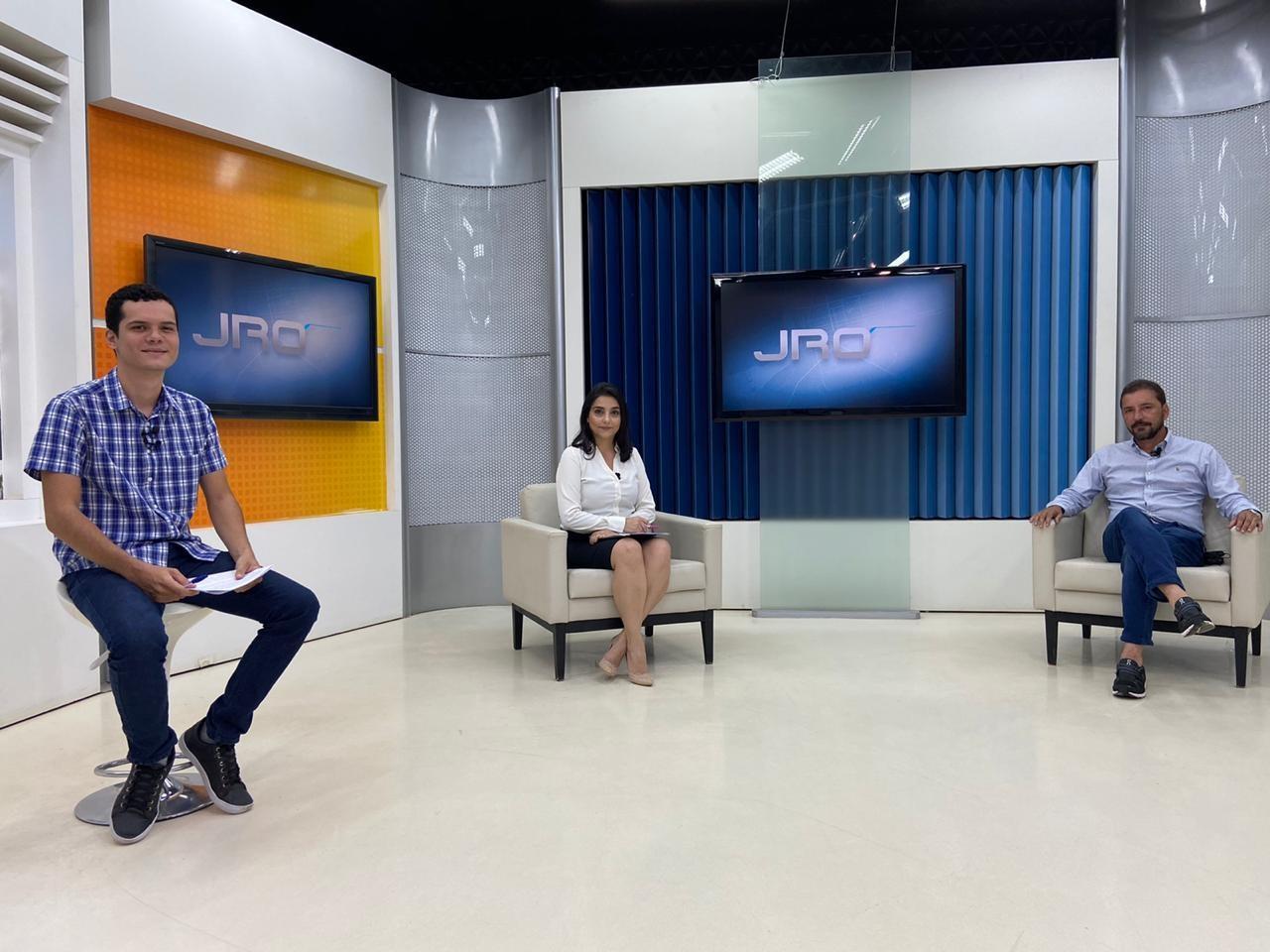 Veja a entrevista com Hildon Chaves, candidato à Prefeitura de Porto Velho