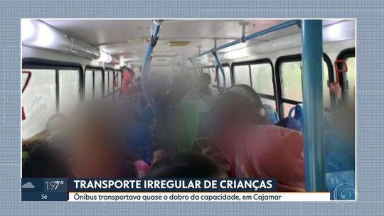 Transporte irregular: ônibus circulava com quase o dobro da capacidade em Cajamar