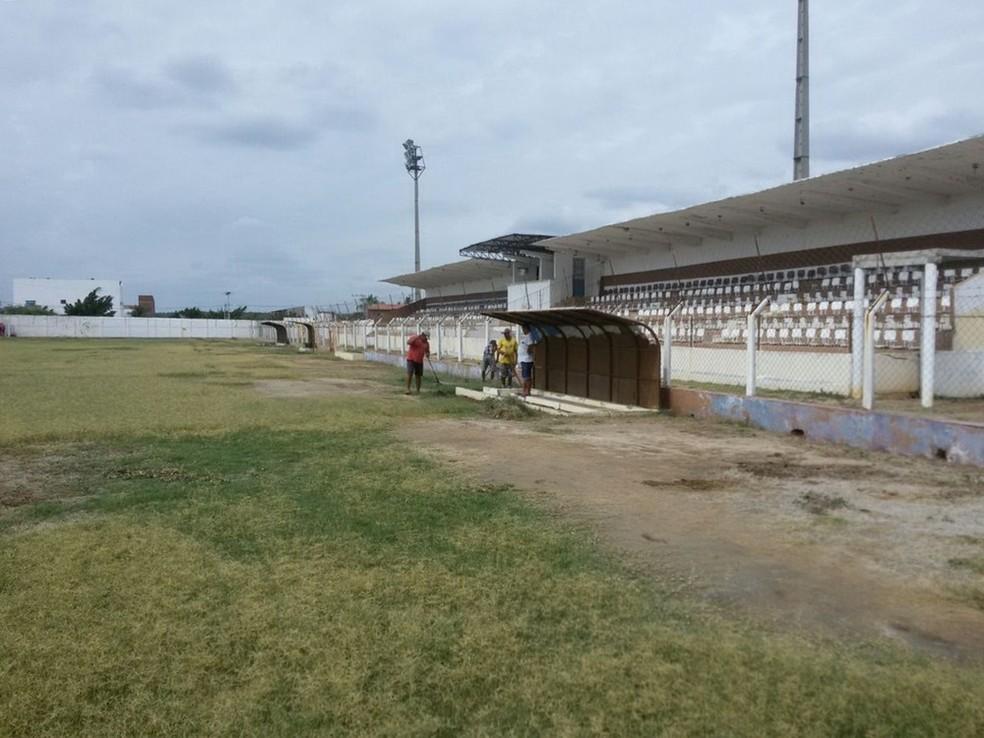 Estádio Pereirão, em Serra Talhada (Foto: Assessoria/Divulgação)