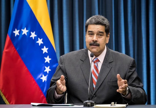 O presidente da Venezuela, Nicolás Maduro (Foto: Miguel Gutiérrez/EFE)