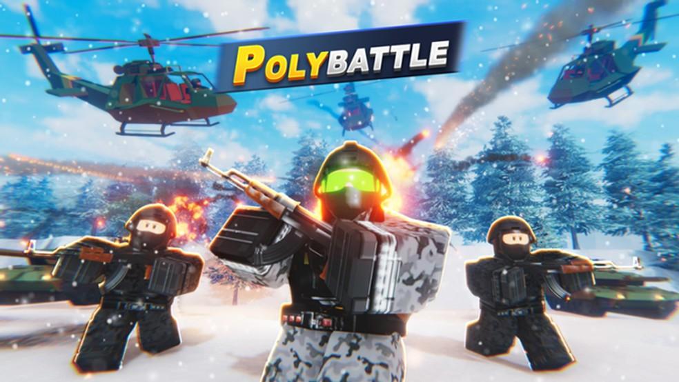 Polybattle traz um pouco de Battlefield para a plataforma do Roblox — Foto: Reprodução/Roblox