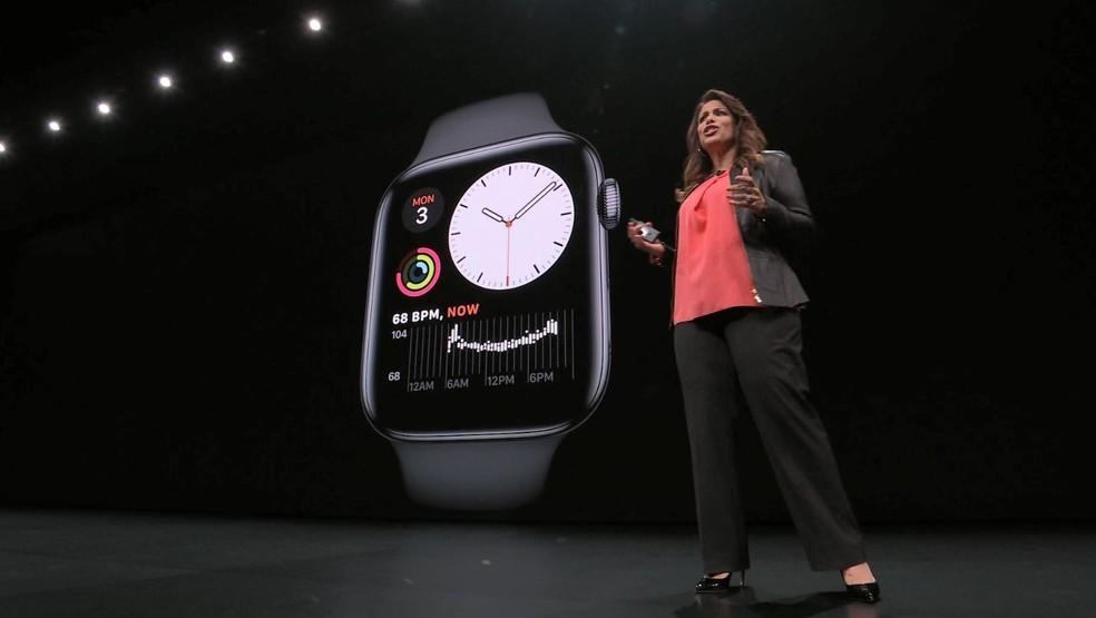 Novidades da Apple para o Watch — Foto: Reprodução