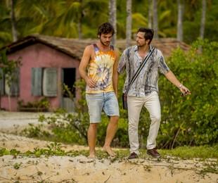 'Segundo Sol': Beto (Emilio Dantas) e Remy (Vladimir Brichta) | Globo / João Cotta