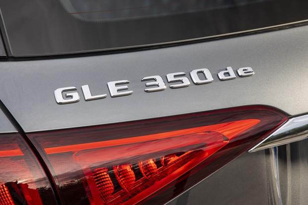 Mercedes-Benz GLE 350 de (Foto: Divulgação)