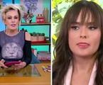 Ana Maria Braga entrevista Thaís, do 'BBB' 21, no 'Mais você' | Reprodução