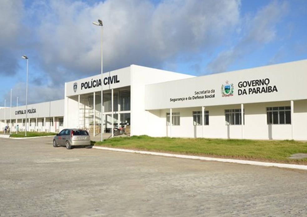 Central de Polícia de João Pessoa — Foto: Polícia Civil da Paraíba/Divulgação