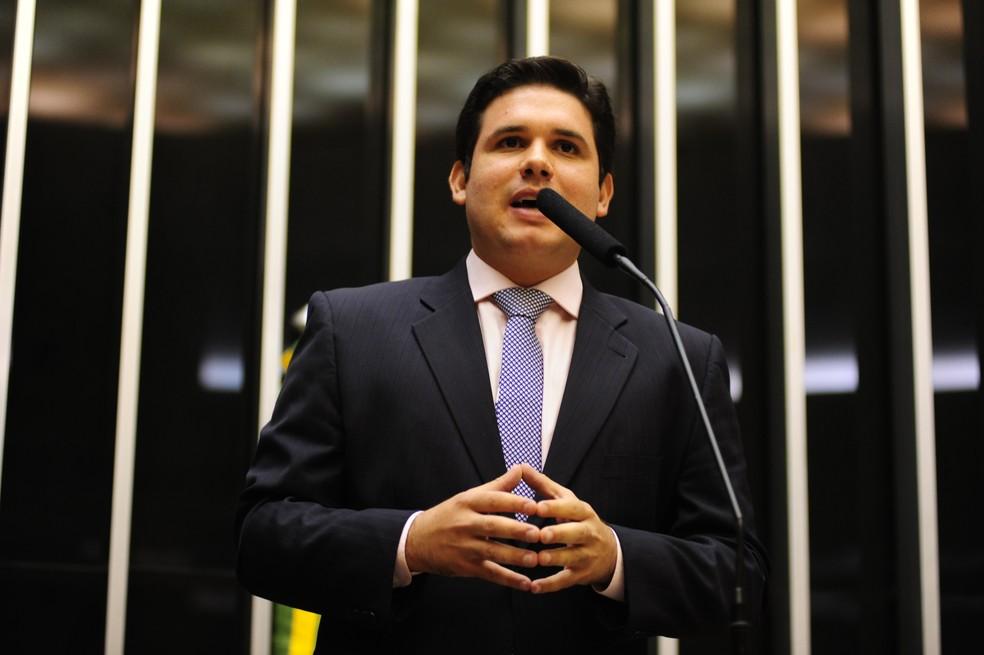 Hugo Motta teve mandato renovado nas eleições 2018 pelos eleitores paraibanos — Foto: Reprodução/Câmara dos Deputados