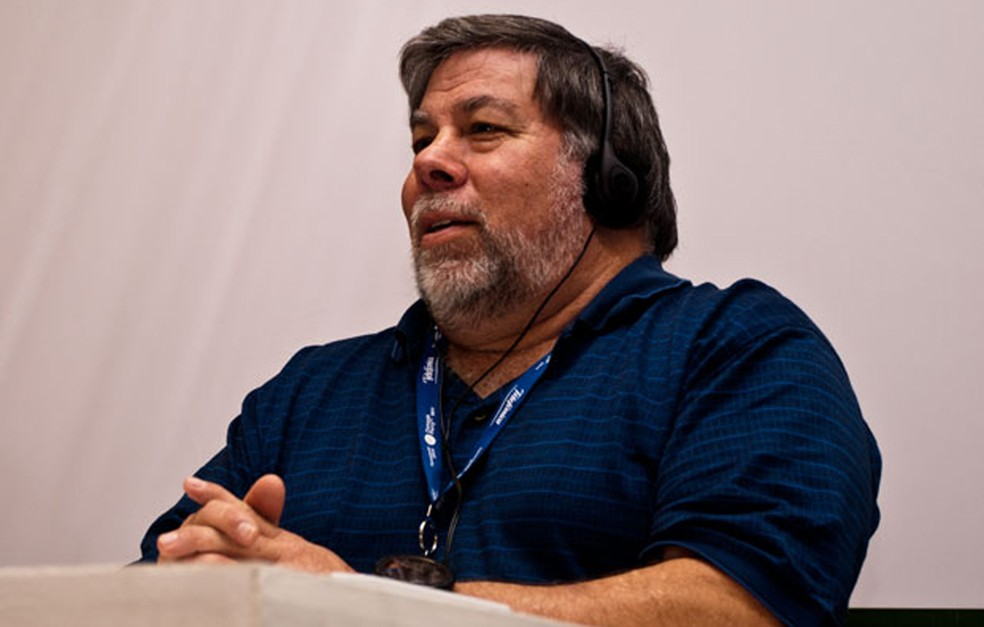 Steve Wozniak, cofundador da Apple, na Campus Party 2011 (Foto: Altieres Rohr/Especial para o G1)