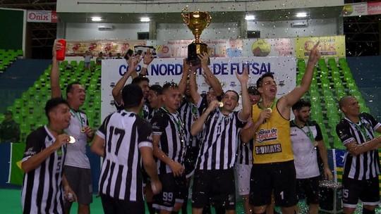 Vídeo: Ceará despacha o JES na prorrogação e conquista o título da Copa Nordeste de futsal