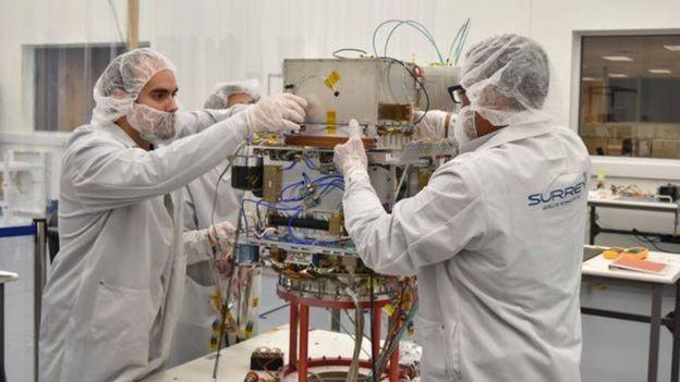 A tecnologia permitirá que as naves saibam onde estão sem ter que confiar nos dados enviados a partir da Terra (Foto: NASA / GENERAL ATOMICS ELECTROMAGNETIC SYSTEMS/BBC)