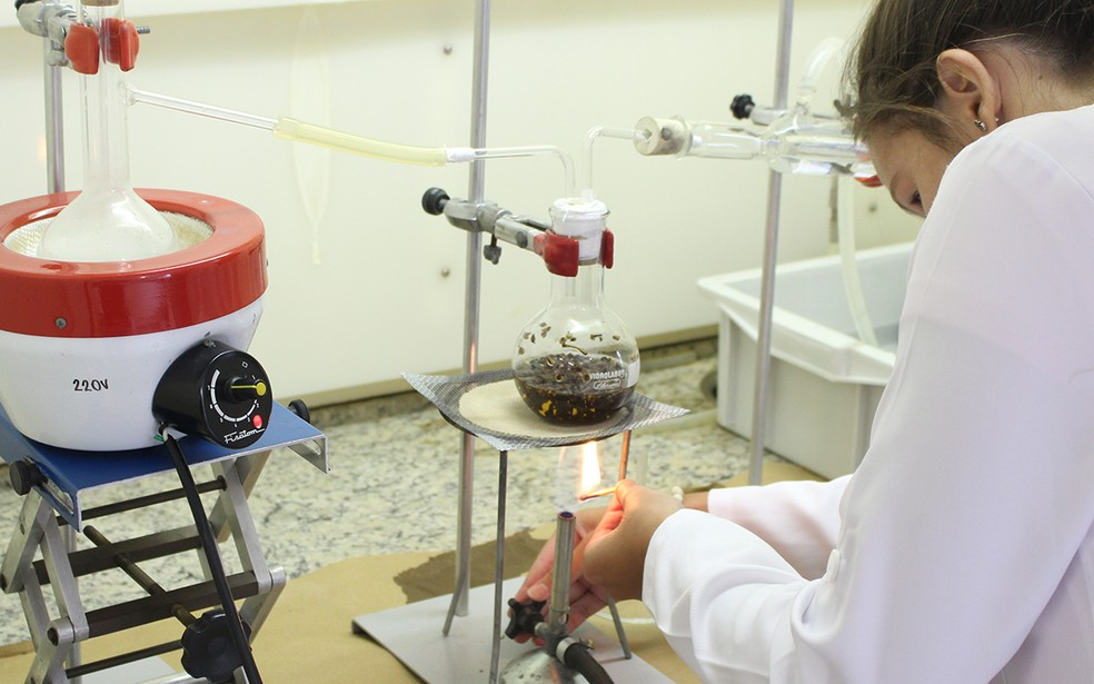 Equipamentos de última geração para o desenvolvimento de projetos de pesquisa — Foto: Imprensa UniSantos