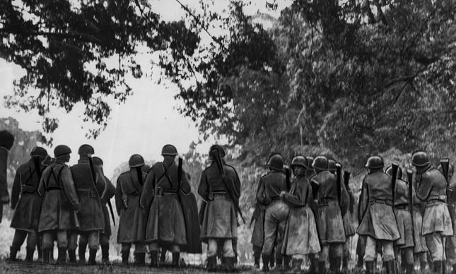 Estado de sítio: Soldados no Campo do Santana para garantir posse de Kubitschek