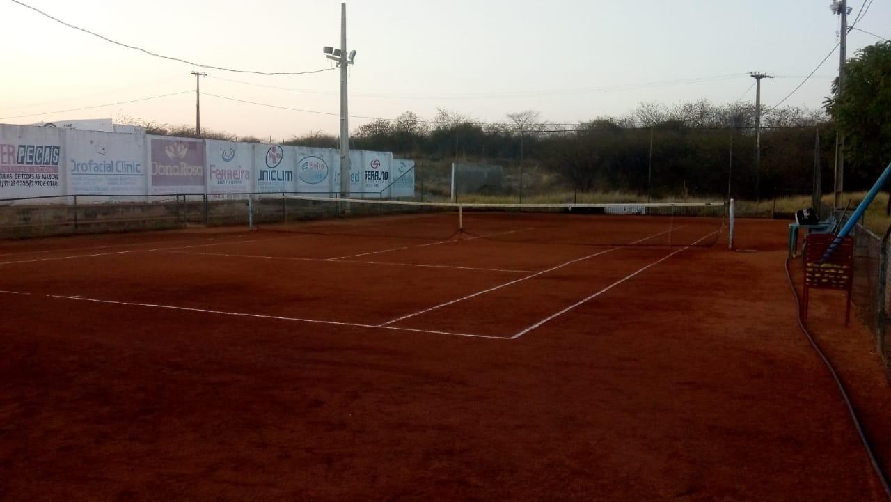 A quadra do projeto na Paraíba