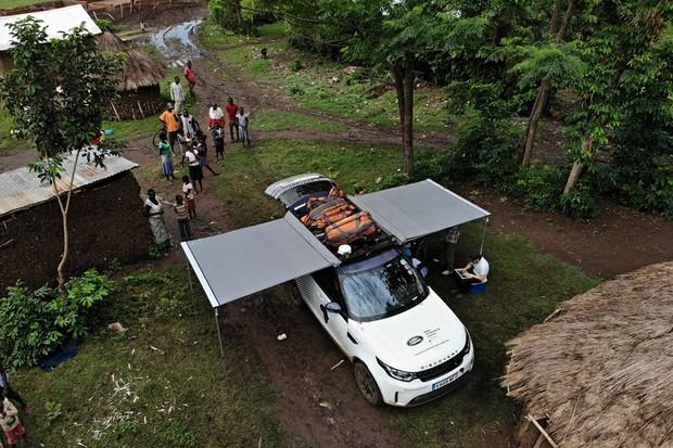 Land Rover Projetc Malaria  (Foto: Divulgação )