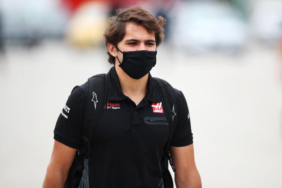 Pietro Fittipaldi, piloto reserva da Haas — Foto: Joe Portlock/Getty Images
