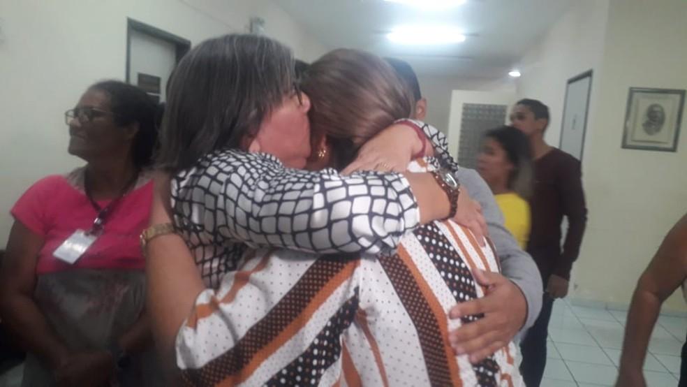Júri absolveu mulher acusada de ser mandante do assassinato da própria mãe na Grande Natal — Foto: Julianne Barreto/Inter TV Cabugi