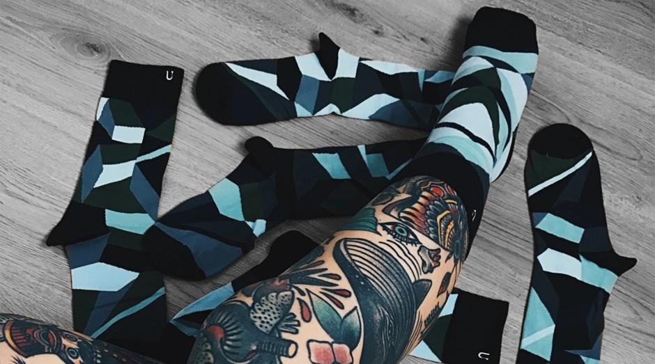 A marca dinamarquesa vende embalagens com 7 ou 21 peças (Foto: Reprodução/instagram/solo.socks)